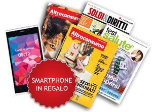 SMARTPHONE in REGALO con ALTROCONSUMO!