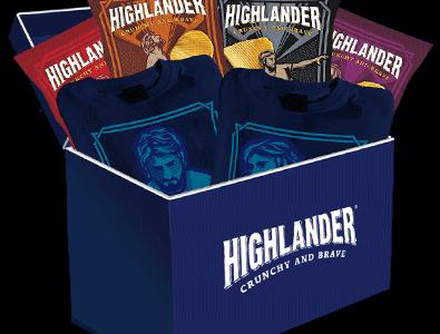 Concorso INSTANT WIN Highlander 44bravedays
