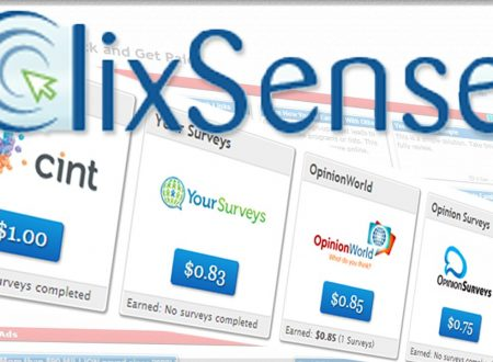 Guadagnare Cliccando (PTC): ClixSense