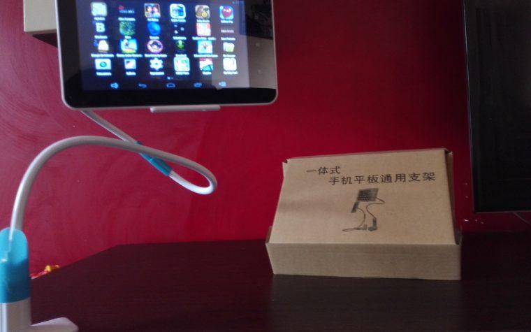 Braccio flessibile da tavolo per Tablet, Ipad o smarphonr di Almatess