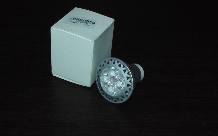 recensione Lampada Faretto 4 LED Luce Bianco Caldo
