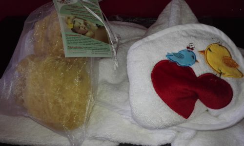 Spugne di Mare Naturali per neonati e bambini create da Contended Infant