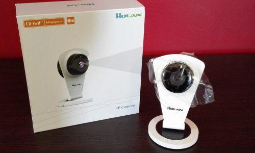 Holan Camera Wireless di VideoSorveglianza con Visore Notturno