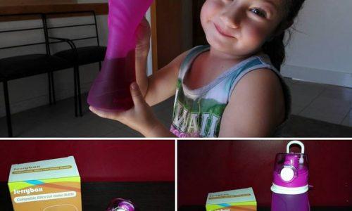 JerryBox Bottiglia d'Acqua  Pieghevole in  Silicone