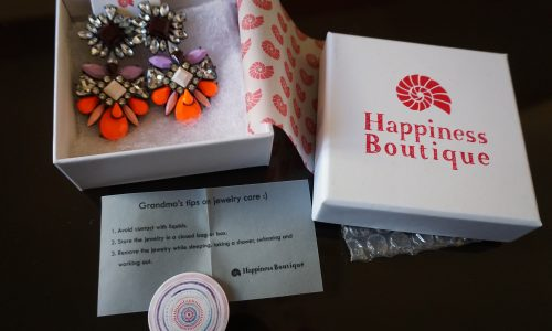 UNBOXING|| Happiness Boutique Orecchini Statement Brillantini Colorati | review AMAZON
