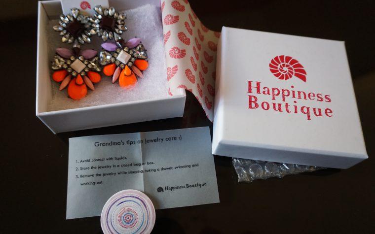 UNBOXING|| Happiness Boutique Orecchini Statement Brillantini Colorati | review AMAZON