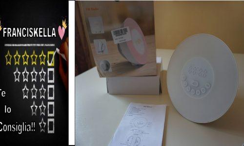 UNBOXING e primo utilizzo: Wake-up Light, Sveglia Luminosa con Simulazione Alba / Tramonto