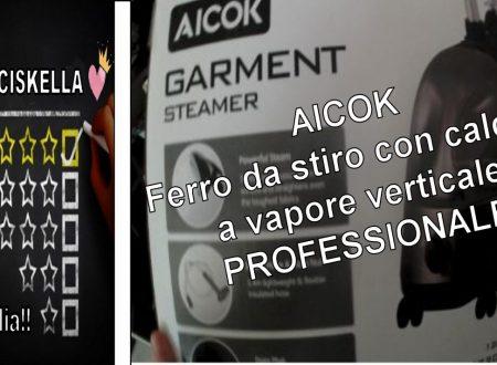 UNBOXING|| Aicok Stiratrice con caldaia a vapore verticale PROFESSIONALE LOWCOST