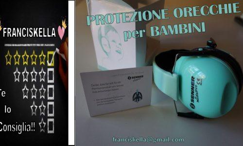 ||UNBOXING|| Senner kidspro protezione orecchie per bambini