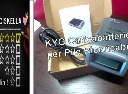 ||UNBOXING|| KYG Caricabatterie per Pile Ricaricabili