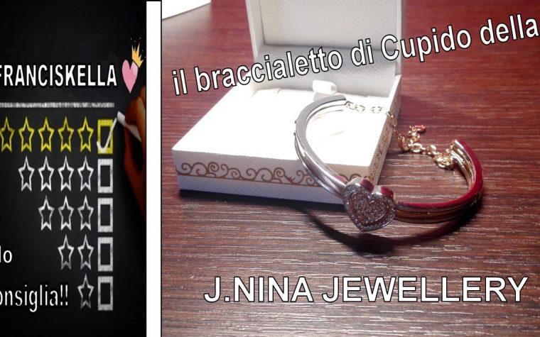 2 Bracciali al posto di 1? puoi con il braccialetto di Cupido della  J.NINA JEWELLERY