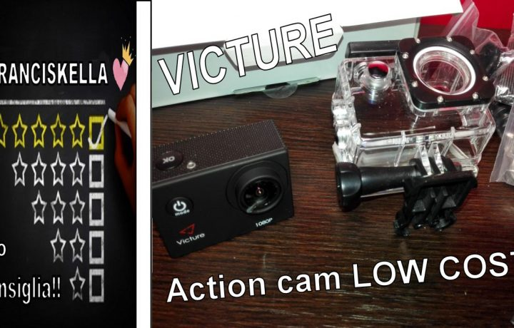 Miglior Action Cam Low cost? Victure 12MP Full HD 1080P