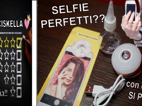 Selfie impeccabili e perfetti?? ecco questo è quello che fa per te!!!