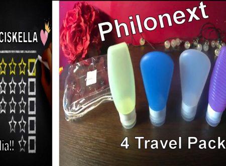 In Viaggio o per la Palestra questi sono Ideali per le tue esigenze!! Philonext 4 Travel Pack