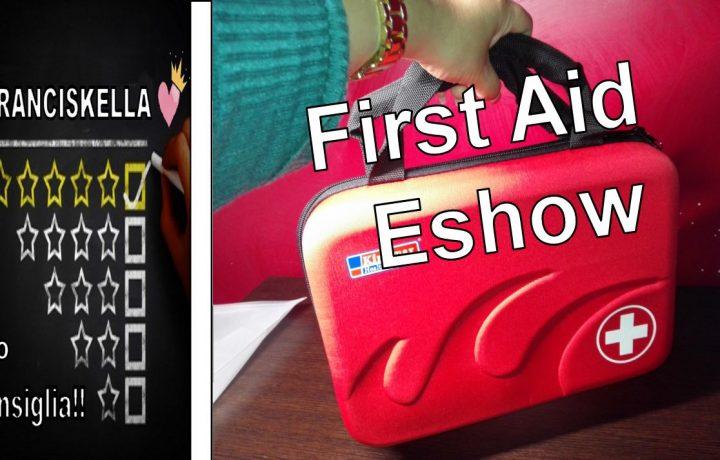 Borsa di Emergenza Pronto Soccorso  (Vuoto) First Aid di Eshow