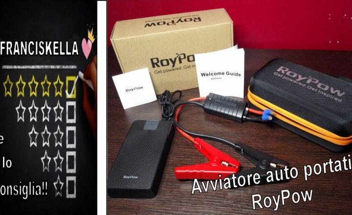 Elettrauto…Addio!! grazie all' Avviatore auto portatile RoyPow